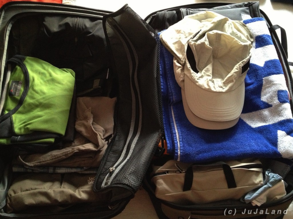 Vollbepackt für 20 Tage SüdOstAsien