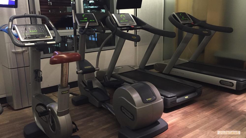 die Fitnessgeräte